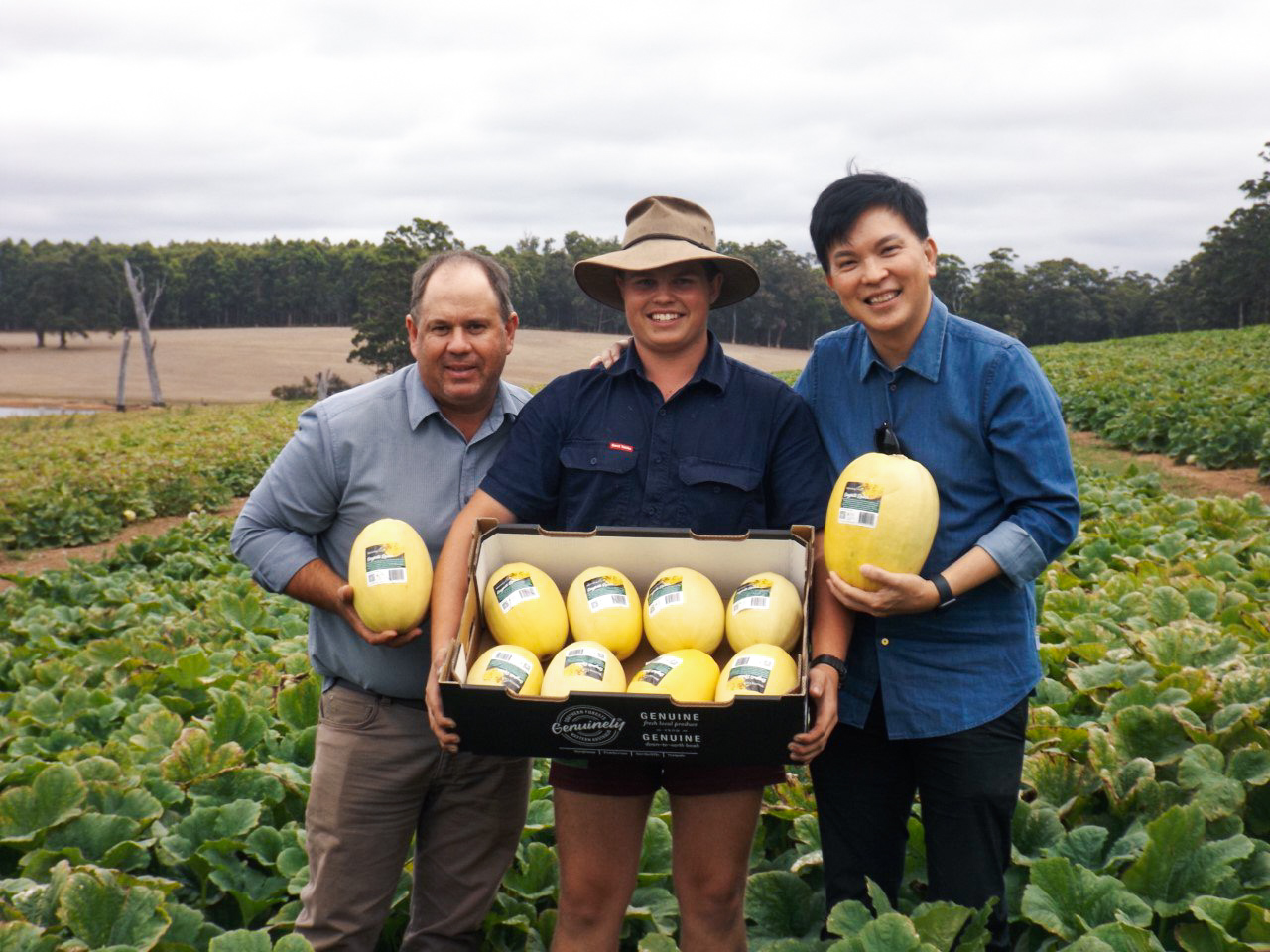 Bevan Eatts Morning Glory Farms DiMuto Western Australia Squash